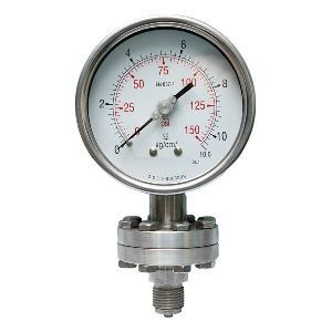 Chemical Sealed Pressure Gauge
