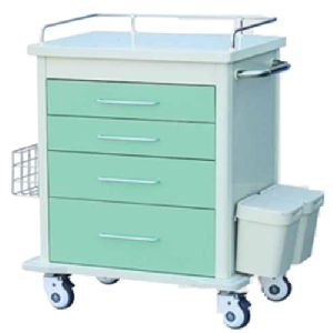 Mri Compatible Emergency Cart