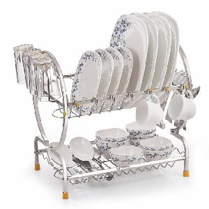 Stainless Steel Drainer Drying Dish Rack