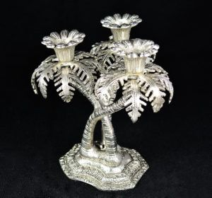 Candle Stand Three Tree