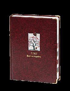 Business Organizer-dark Brown-handy Diary