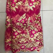 African Dresses Tulle Fabric