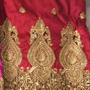 Raw Silk George Fabric