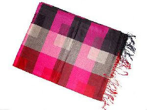 Multi check designer shawls