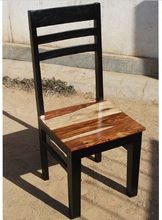 RETRO WOODEN DINING CHAIR