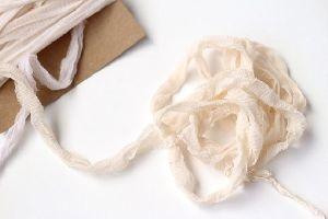 Silk Ribbons Ivory Yarn
