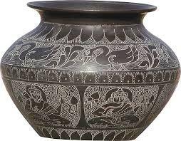 handicraft pots