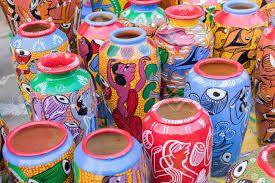 handicrafts pots