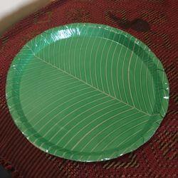 Areca Leaf Laminated Round Plates