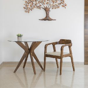 Dover Dining Chair By Walnut Finish