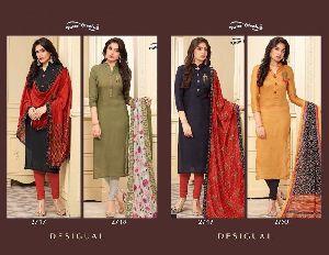 Desiguel Designer Hand Work And Printed Salwar Kameez