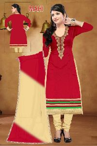 Mahi Cotton Heavy Embroidered Salwar Kameez