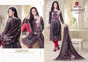 Panghat Designer Printed Pashmina Salwar Suit