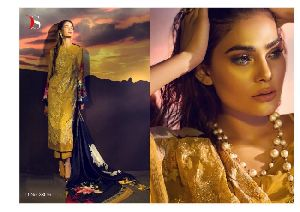 Rinaaz Designer Silk Printed Pakistani Suit
