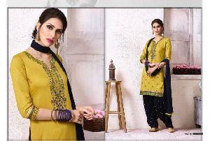 The Fashion Of Patiala Vol -18 Cotton Embroidery Salwar Kameez
