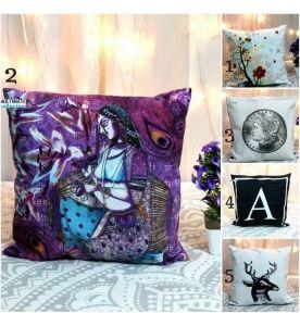 Cotton Printed Decorative Pillows