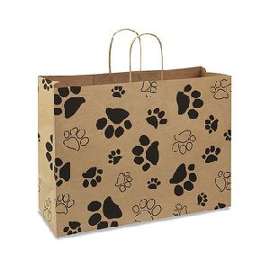Printed Gift Carry Paper Bags View Larger