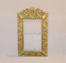 Wooden Carving Antique Carved Mirror