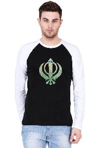 Men's Raglan Full Sleeve T Shirt