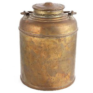 Beautiful Handcrafted Brass Milk Pot