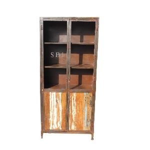 Industrial Long Shape Iron Cabinet