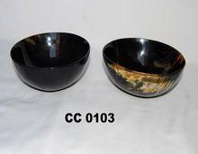 Buffalo Horn Small Serving Bowls