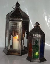 Moroccan Candle Lamps