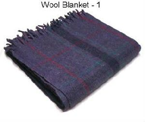 Yoga Wool Blanket