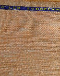 NS FabricOrange100% Pure Linen Lea 60*60 Fabric