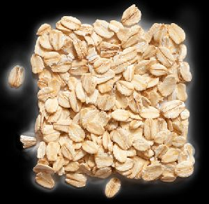 white rolled oats