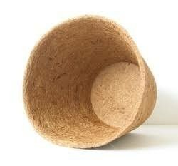 Natural Round Coco Pots