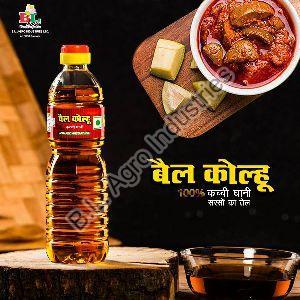 Bail Kolhu Kachi Ghani Mustard Oil