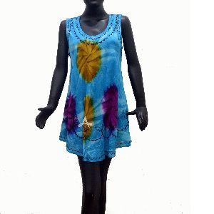Multi color ladies Tie Dye Top