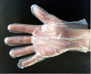HDPE Poly Examination Gloves
