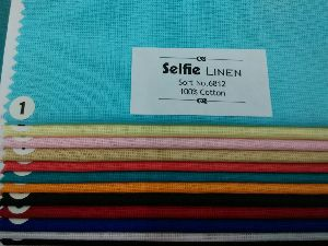 100% Pure Cotton Dobby Shirting Fabric