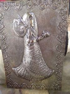 Silver Antique Wall Painting