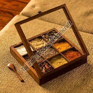 9 Container Spice Box