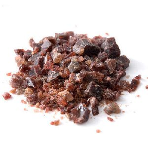 black salt crystal