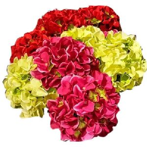 Artificial Hydrangea Flower Bunch