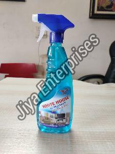 White House Glass Cleaner Bottle