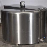Solar Power Milk Cooling Tank