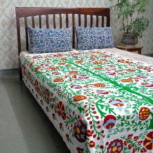 Uzani Twin Throw Beautifully Crafted On Cotton Fabric