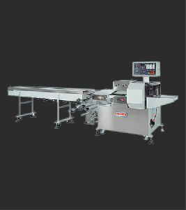 Lower Reel Horizontal Flow Wrapping Machine