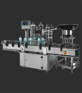 Two Head Auto Capping Machine