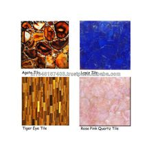 Semi-precious Gemstone Wall And Flooring Tiles