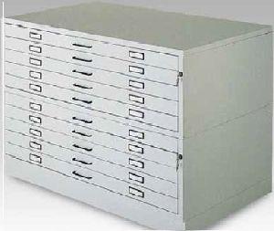 Horizontal Steel Filing Cabinet