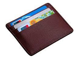 Fancy Leather Card Holder