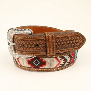 Ladies Brown Reversible Leather Belt