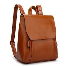 Leather College Bag