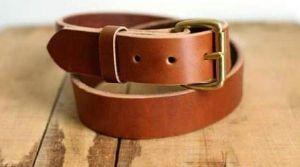 Mens Brown Stylish Leather Belt
